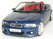Bmw M3 E46 cabriolet blue wheels 19 inches
