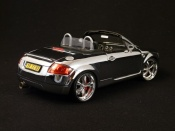 Audi tuning TT Roadster shinning full chrome