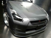 Nissan Skyline R35 miniature carbone