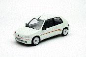 Peugeot 106 Rallye miniature 1.3 blanche