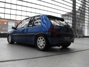 Peugeot 106 XSI phase 1 blue wheels 205 gti 1993