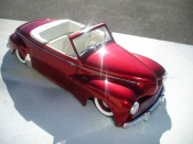Peugeot tuning 203 cabriolet 1954 old shcool