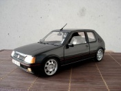 Peugeot tuning 205 GTI 1.9 Gris Graphite wheels 15 inches 309 gti