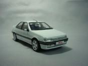 Peugeot 405 miniature Mi16 phase 2 1992 blanche