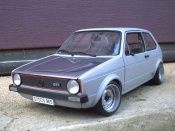 Volkswagen Golf 1 GTI  jantes toles bords larges capot poli Solido