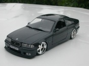 Bmw M3 E36 coupe black wheels andrew racing