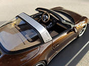 Porsche tuning 991 Targa 4 GTS brown jantes techart