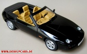 Porsche 928   cabriolet nero Autoart