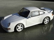 Porsche tuning 993 Turbo white