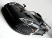 Porsche 996 GT1 black