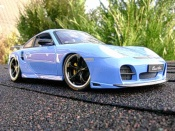 Porsche 996 Turbo  techart bleue Hotworks