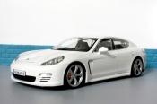Porsche Panamera 4s blanche Norev tuning