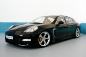 Porsche Panamera turbo black