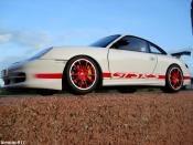 Porsche 996 GT3 RS white