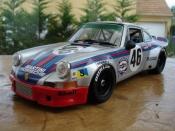 Porsche 911 RSR martini le mans 73