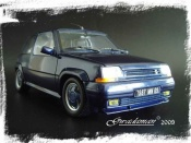 Renault 5 GT Turbo   serie limitee alain oreille Norev