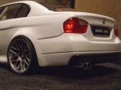 Bmw 330 E90  e90 wheels csl exhaust Welly