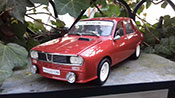 Renault 12 miniature Gordini kit carrosserie antibrouillard rouge