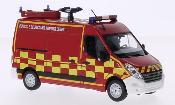Renault Master miniature Kasten Pompiers 2011