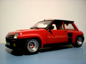 Renault tuning 5 Turbo red wheels gotti 073r