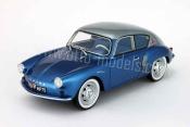 Renault Alpine miniature A106 mille miles 1958 grise et bleue