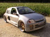 Renault tuning Clio V6 williams