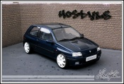 Renault tuning Clio Williams wheels groupe a white