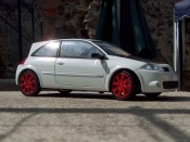 Renault tuning Megane R26R weiss