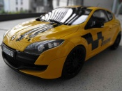 Renault Megane RS 250  2.0 t yellow deco renault sport Ottomobile
