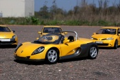 Renault tuning Spider giallo sirius
