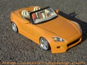 Honda S2000   orange tuning Maisto