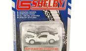 Shelby GT miniature 500 427 Super Snake blanche mit noireen Streifen 2008