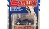 Shelby GT miniature 500 KR bleu mit grisenen Streifen 2008