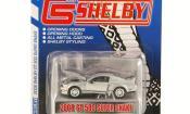 Shelby GT miniature 500 Super Snake grise mit noireen Streifen 2008