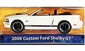 Shelby GT Convertible white/matt-black 2008
