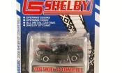 Shelby GT miniature Convertible noire mit rougeen Streifen 2008