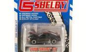 Shelby GT miniature Coupe noire mit rougeen Streifen 2008
