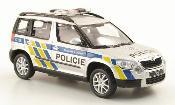 Skoda Yeti Polizei Tschechien