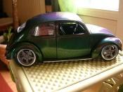 Volkswagen Kafer   street cox peinture cameleon Solido