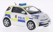Toyota IQ miniature Polizei Schweden 2011
