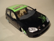 Miniature German Look Volkswagen Golf V GTI german look flower