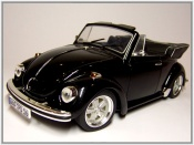 Volkswagen Kafer  Coccinelle Cabriolet noire jantes fuchs Revell