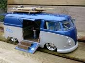 Volkswagen Combi diecast hawai