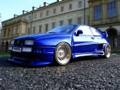 Volkswagen Corrado VR6  kit body rieger wheels bbs tires flans tendus Revell