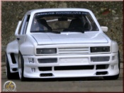 Volkswagen Golf 1 GTI kit body gto rieger white
