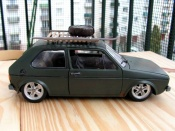 Volkswagen Golf 1 GTI rusty