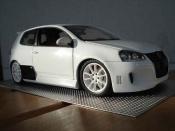 Volkswagen Golf V GTI  blanche hofele spirit Norev