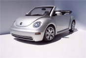 Volkswagen New Beetle cabriolet gray metallized