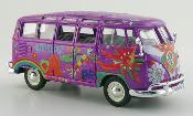 Volkswagen T1 Samba Bus Hippie lila/Dekor