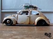 Volkswagen Kafer coccinelle split hoodride